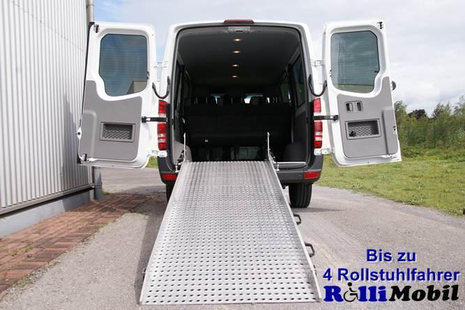 Rollstuhlbusse Rollimobil Autovermietung Rollstuhls Dorsten