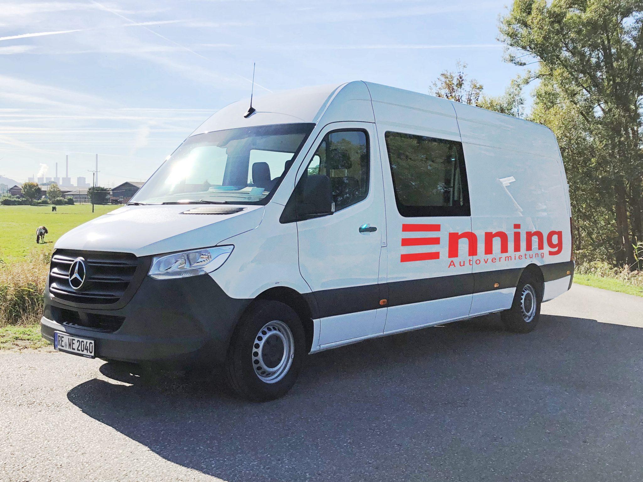 Autovermietung Enning Dorsten Sprinter 4,2 m WEB