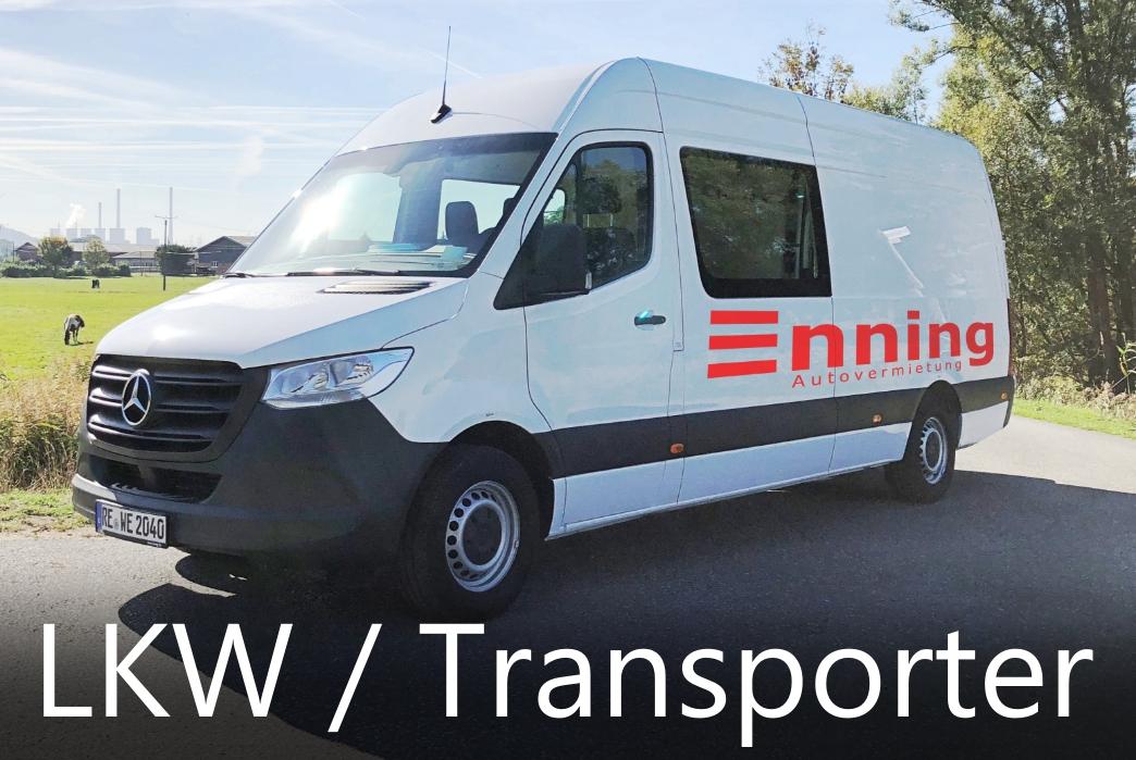 Transporter 3 Mercedes Benz Sprinter Mittel Autovermietung Enning Dorsten