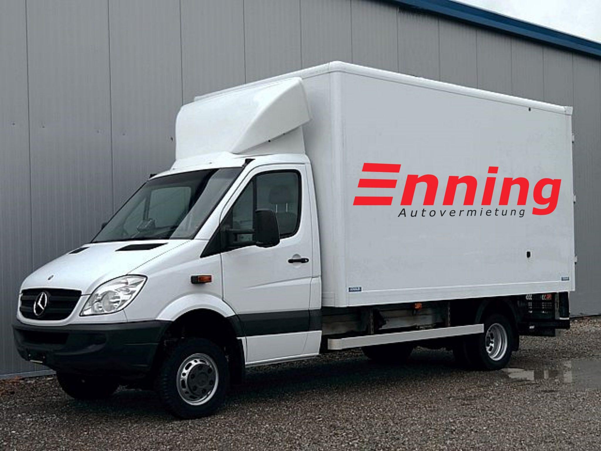 Sprinter 6,0t Koffer - Gr.5 Autovermietung Enning Dorsten