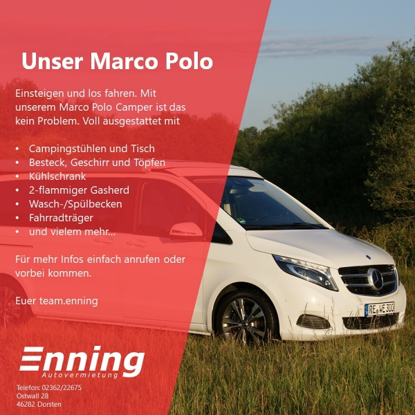 NEU: Marco Polo Camper